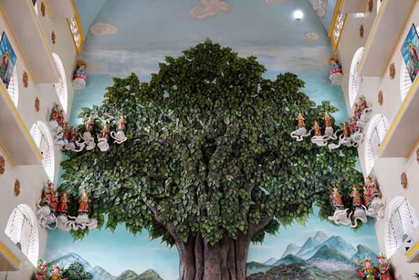 Ngôi chùa có chánh điện cao nhất Việt Nam đẹp như tranh ở Sài Gòn 7