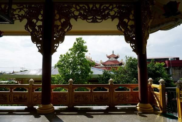 Ngôi chùa có chánh điện cao nhất Việt Nam đẹp như tranh ở Sài Gòn 9