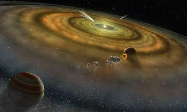 Hệ Mặt trời hình thành trong vòng 200.000 năm