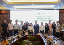 1400 golfers tham dự Bamboo Airways Golf Tournament 2018