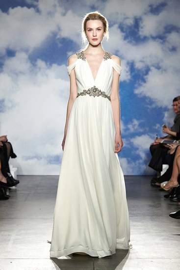 Các mẫu váy nổi bật Tuần thời trang cưới Xuân Hè 2015 2